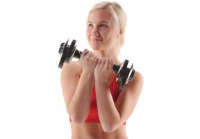 Hanteln und Gewichte