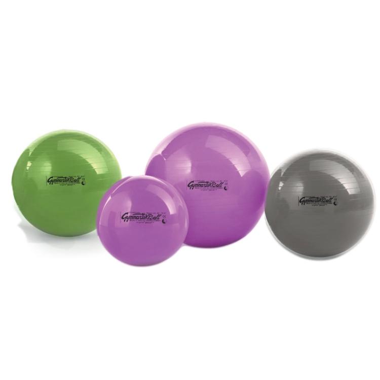 Original Pezzi® Gymnastikball silber | Ø 75 cm  | Polybeutel