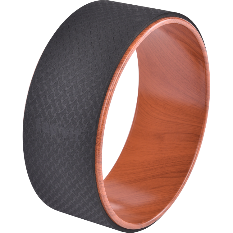 top | vit® yoga.wheel wood, Ø ca. 33 cm