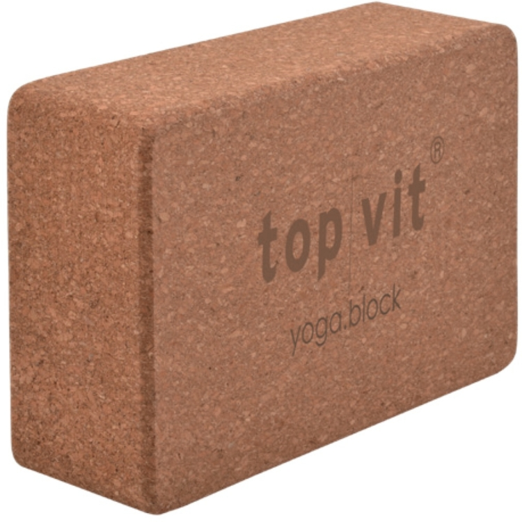 top | vit® yoga.block cork