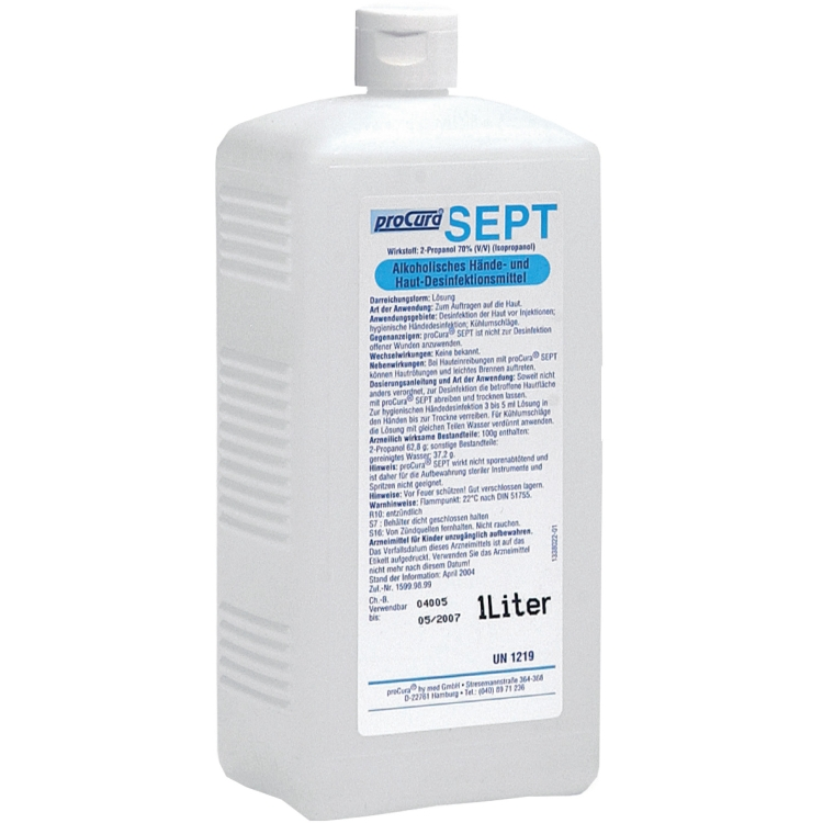 Öffne ProCuraSept-Handdesinfektion 500 ml / 1000 ml