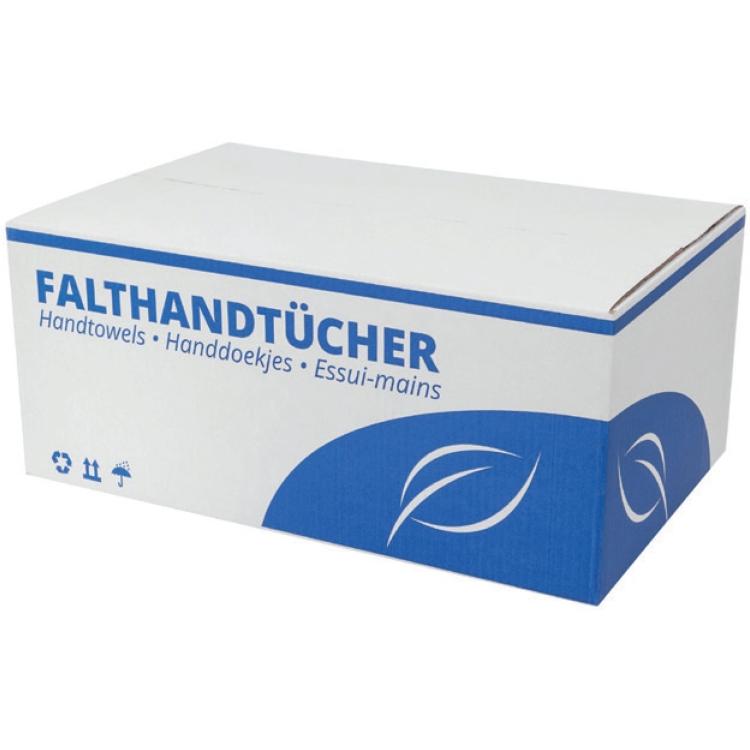 Papier-Falthandtücher 2-lagig, natur