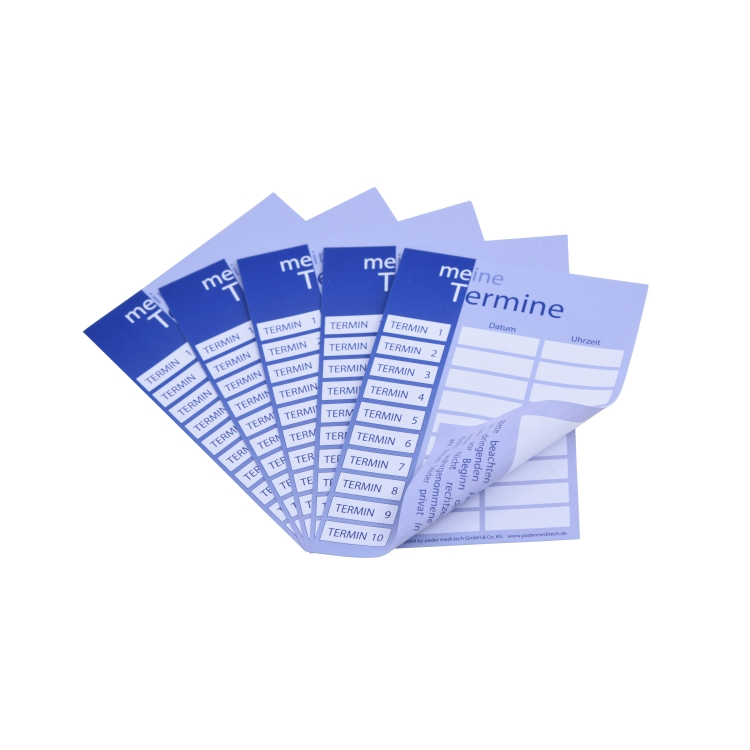 pader.terminkarten Standard