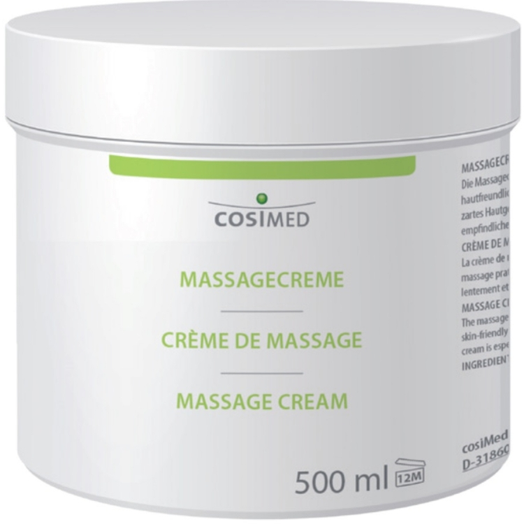 Massagecreme, 500 ml Dose