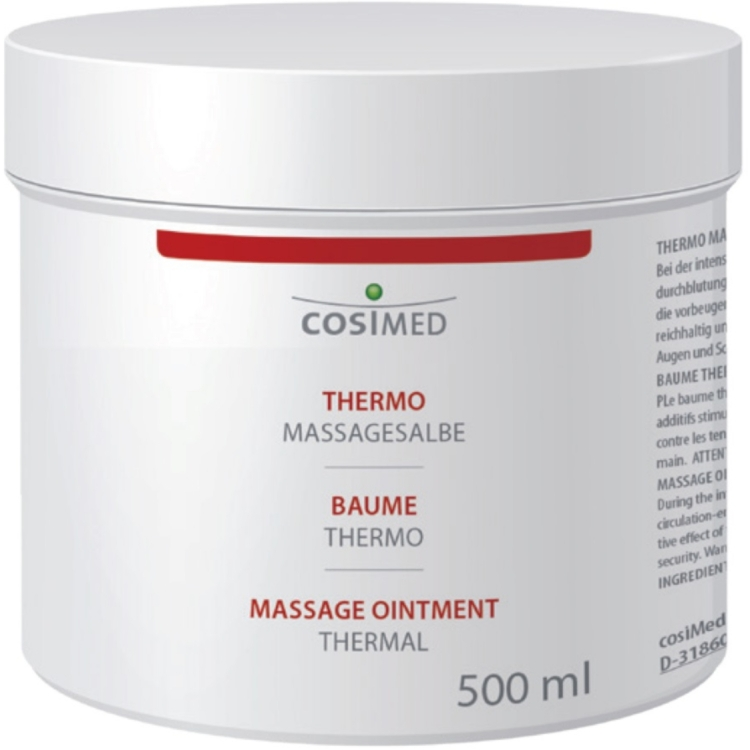 Massagesalbe Thermo, 500 ml Dose