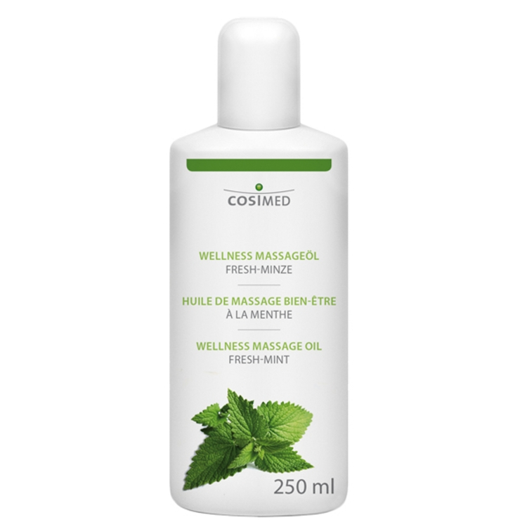 Öffne Wellness Massageöl Fresh-Minze 250 ml / 500 ml / 1L / 5L