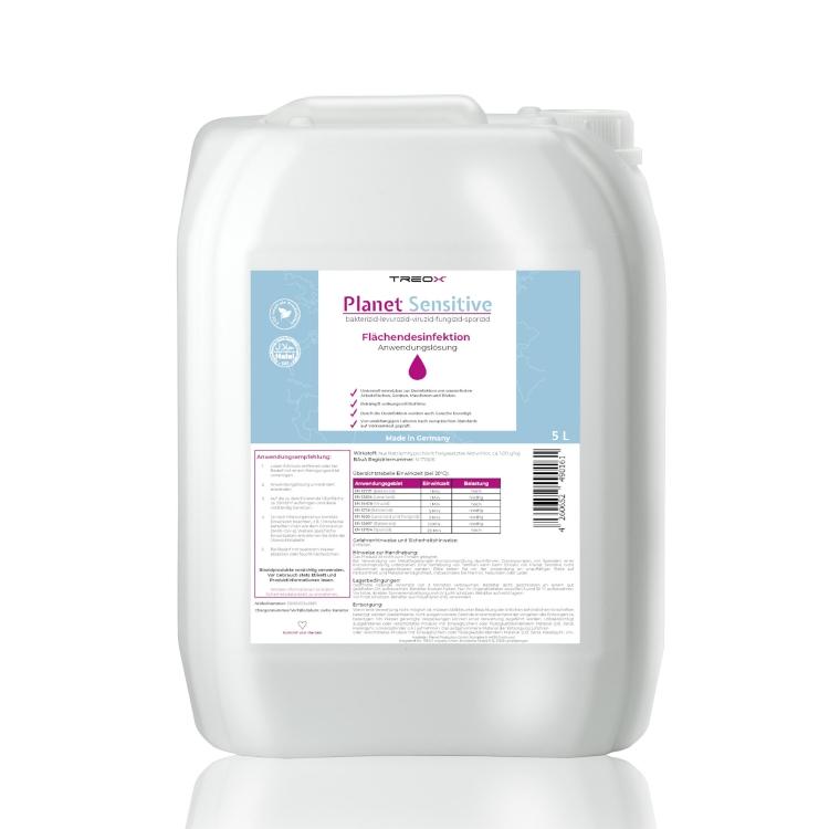 Öffne Planet Sensitive Flächendesinfektion, 5 Liter Kanister