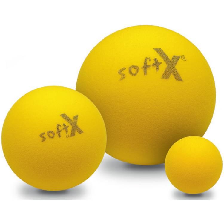 Öffne softX® Trainingsball, gelb