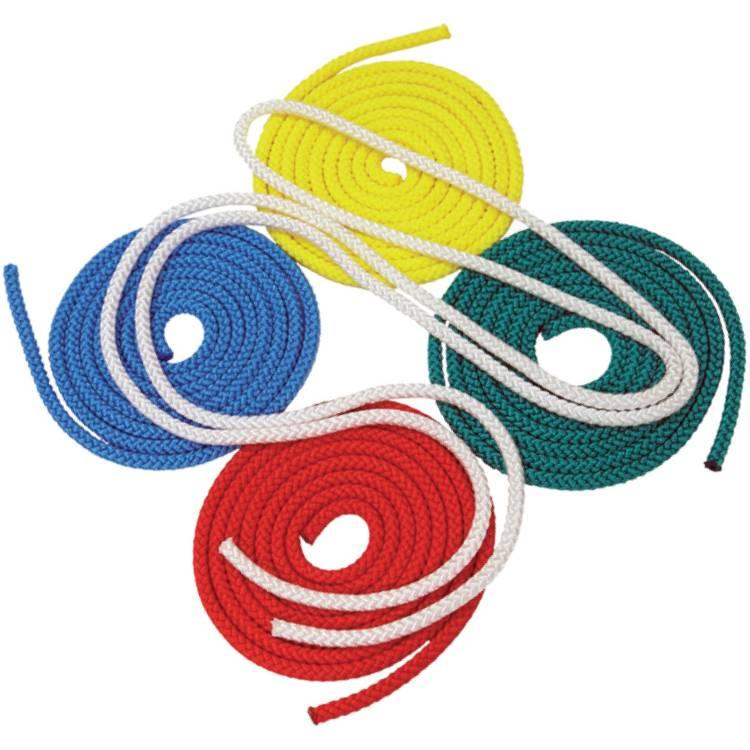 Öffne Gymnastik-Springseil farbig