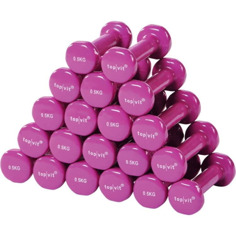 Öffne top | vit® dumb.bell Sparpaket 10 Paar 0,5 kg - pink