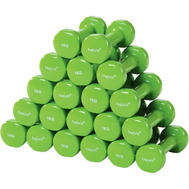 Öffne top | vit® dumb.bell Sparpaket 10 Paar 1,0 kg- apple