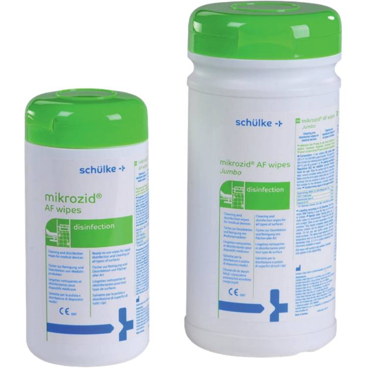 Öffne Desinfektionstücher Mikrozid AF