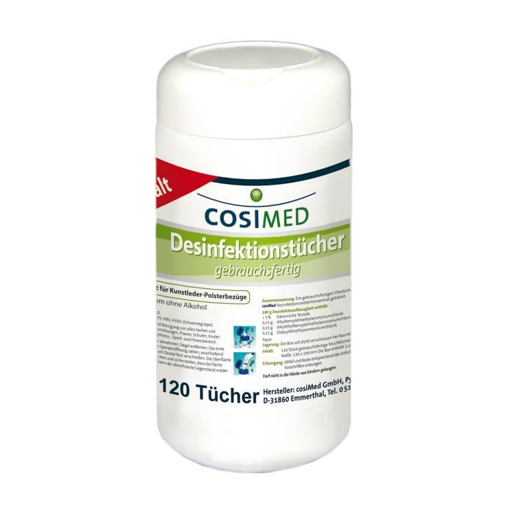 Öffne cosiMed Desinfektionstücher