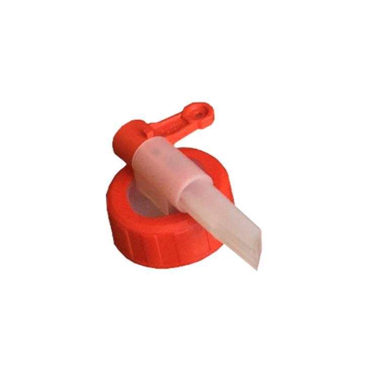 Öffne Dosierhahn für 5 Liter Kanister