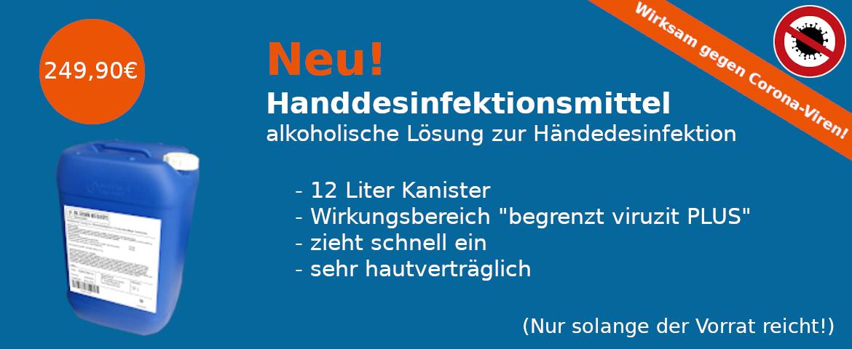 12 l Kanister Handdesinfektionsmittel